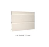 BARDAGE PVC DURASID 333mm lg 5m