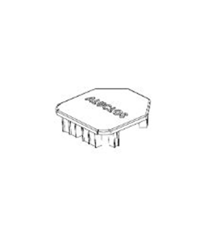 aluclos embout pour poteau amg mat riaux. Black Bedroom Furniture Sets. Home Design Ideas